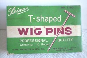 "Wig T-Pins Diane 2"" Long  Approx 200 Pins"