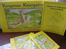 Kangaroos Kalangadoo Language Kit Alison Jarred Roelofs Jumbo & Resource book
