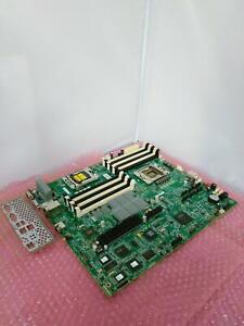 HP StorageWorks Socket LGA1366 Motherboard With I/O Shield 591747-001 583736-001