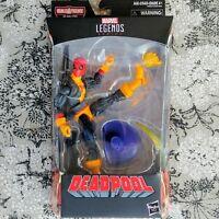 DEADPOOL IN X-MEN SHIRT Marvel Legends 6-Inch Figure BAF Sauron Sealed Box