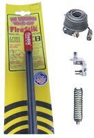 BRACKET /& STUD DS 18FT RG58 COAX NEW FIRESTIK 2 FS2 B 2FT BLACK CB ANTENNA