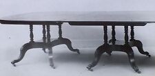 Duncan Phyfe Designed 1820-1825 Dining Table, Magic Lantern Glass Slide
