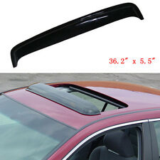 "36"" Universal Deflector Car SUV Sunroof Sun Moon Roof Visor Vent Wind Rain Guard"