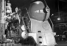 New York Central J3a Hudson in Shop Being Serviced Bullet Steam Train photo 2