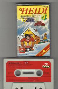 HEIDI Kassette MC Folge 4  Poly Kassette aus der TV-Original 1978