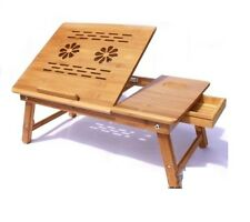Laptop Table e table Study Reading without Cooling Fan Bamboo- BQ