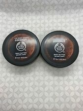 The Body Shop Coconut Body Butter 50 ml 1.69 oz Travel Size NEW set lot 2