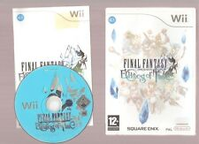 Rare !!! FINAL FANTASY CRYSTAL CHRONICLES ECHOES OF TIME : Le Meilleur Wii/WiiU