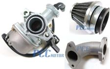 For Pit Dirt Bike 110cc 125cc PZ22 22mm Carburetor Intake Pipe Air Filter