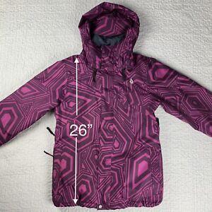 Volcom Women's Ski Jacket. Small. Waterproof. Snowboard Coat. Great! MSRP $200