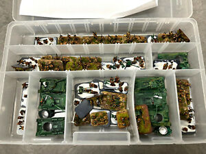 """15mm """"Russian WWII Army Flames of War and Metal Tanks w/T-34s"""" Lots #12 & 14"""