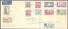 SAMOA 1952 definitive set complete on reg FDC..............................54315