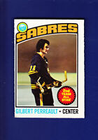 Gilbert Perreault AS HOF 1976-77 O-PEE-CHEE OPC Hockey #180(VGEX) Buffalo Sabres