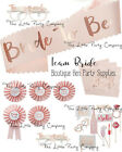 TEAM BRIDE TO BE HEN PARTY BADGES SASH HEN NIGHT VINTAGE FAVOURS ACCESSORIES