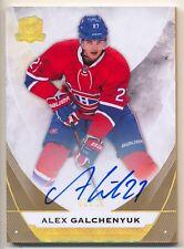 2015-16 The Cup Gold Spectrum ALEX GALCHENYUK Auto Rare Montreal Canadiens SP 12