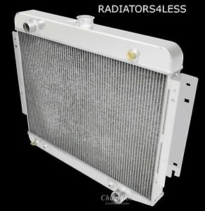 CHAMPION 3 ROW ALUMINUM RADIATOR 70-78 DODGE RAMCHARGER D100 TRUCK B100 VAN