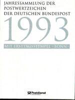 Bund Jahressammlung 1993