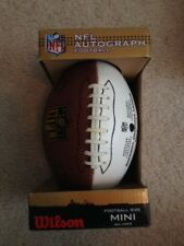 Football Wilson Autograph Mini Official Nfl The Duke Ball Brand New In Box