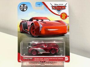 Disney Cars Racing Red Jackson Storm Diecast Chase Toy Car Brand New Rare HTF