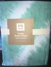 New~Pottery Barn Teen Kids Tie Dye Shower Curtain ~Pool