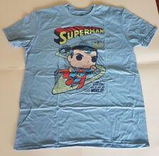Funko Pop Tees Superman T-Shirt X-Large XL DC Legion Of Collectors Exclusive