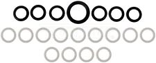FITS 05-16 INTERNATIONAL IC CORP 7.6L MAXXFORCE DT466 FUEL INJECTOR O-RING KIT