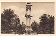 Spain andalucia sevilla Cristobal colon monument has