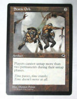Rare Static Orb Tempest Artifact MTG Magic The Gathering Trading Card LP