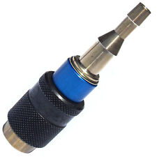 Raccord rapide Stoptac automatique oxygène GCE montage tuyau de gaz chalumeaux