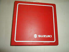 2005 2006 Suzuki 2/4 Stroke RM ALT LT GS GSX GSXR Service Bulletin Index Manual