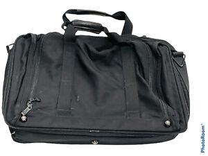 🔥 Tumi • Black Nylon Travel Expandable Duffle Bag • Multiple Compartments