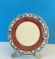 Vintage Blue White Appetizer Dessert Trinket Dish Plate