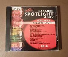 Sound Choice Karaoke Pop/Rock 70'S & 80'S 15 Songs Cd+G