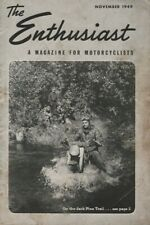 1949 November - The Enthusiast - Vintage Harley-Davidson Motorcycle Magazine