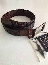 NEW Paul & Shark Yachting  Belt Cintura Leather 95 cm ( 110 cm total lenght)