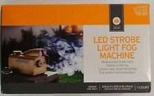 New! Decor by Target LED Strobe Light Fog Machine Multicolored Flashes in Fog