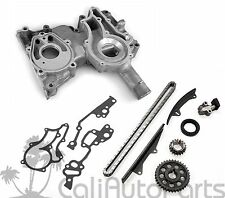 FITS: 81-82 TOYOTA CELICA PICKUP 2.4L 22R DOUBLE ROW TIMING CHAIN + COVER KIT