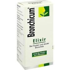 BRONCHICUM Elixir 100ml PZN 3728280