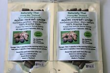 Organic Krachai Dam Black Ginger 100% - 120 x500mg Capsules - Sexual Performance