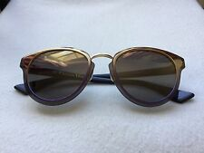 Dior nightfall Sunglasses used good condition golden and purple authentic £300