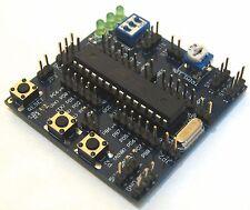 KIT: Demoboard Atmel AVR ATMEGA8 + USBAsp + 10 Cavetti jumper. ATIONE