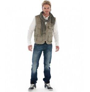 Mens Vest Waistcoat Multi-Pocket Bodywarmer Ladies Workwear Fly Fishing Hunting