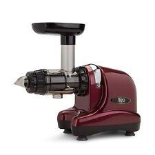 NEW Oscar Neo DA-1000 Slow Cold Press Juicer Extractor - Burgundy