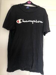 Black Champion Tshirt XS
