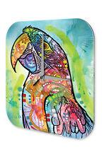 Wanduhr Vogel  Papagei Acryl Deko Wand Uhr Vintage