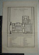 1817 Barbie du Bocage-plan de una casa griego Grecia-Anacharsis