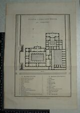 1817 Barbie du Bocage - Plan of a Grecian House Greece - Anacharsis
