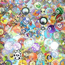 Lot of 50 Pogs / Milk Caps + Slammer Unsorted! Retro Game Nostalgia! Skull