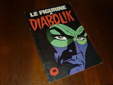 ALBUM FIGURINE DIABOLIK Ed. SUPER RAF 1976 NON COMPLETO - OTTIMO + !!