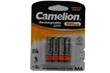 4 X AAA Micro NI-MH batteries Camelion 1,2 V 600 mAh pour Gigaset SX810a RNIS